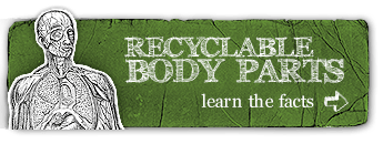 learn the facts about recyclable body parts